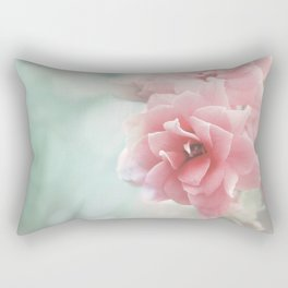 Rose flower photo photography Rectangular Pillow