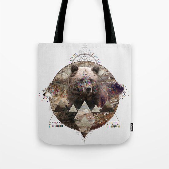 ANIMAL ECHOES Tote Bag