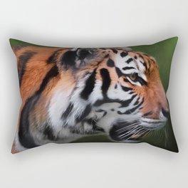 A Leader - Siberian Tiger Art Rectangular Pillow