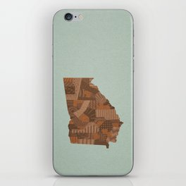 Georgia iPhone Skin