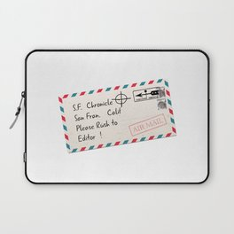 Rush to Editor Zodiac Killer Laptop Sleeve