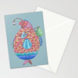 Gédéon, le Poisson Stationery Cards