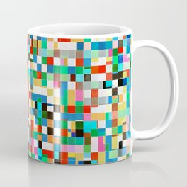 Messy Mosaic Coffee Mug