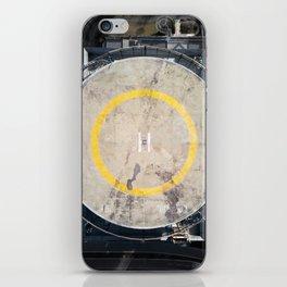 heliport iPhone Skin