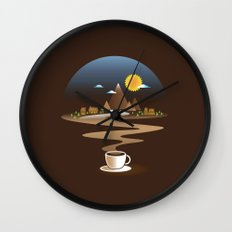 Old town coffee Wall Clock