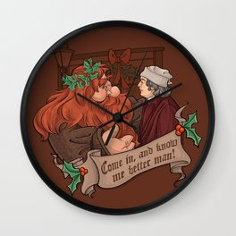 Know me Better, Man! Wall Clock