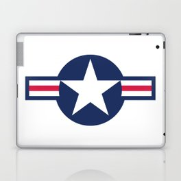 US Air-force plane roundel HQ image Laptop & iPad Skin