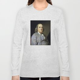 Benjamin Franklin Long Sleeve T-shirt