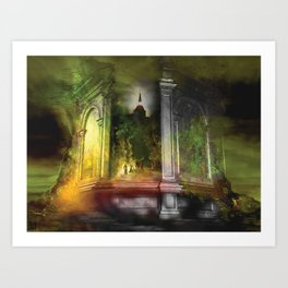 Collosseum Art Print