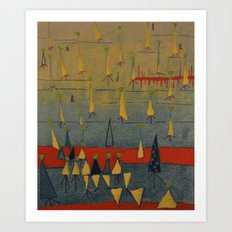 isoceles Art Print