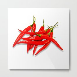 Spicy Metal Print