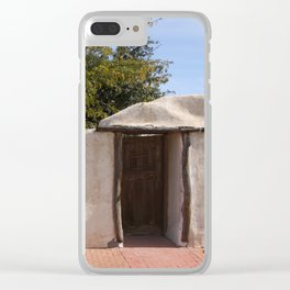 mesilla entrance Clear iPhone Case