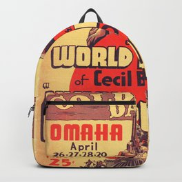 Vintage poster - Union Pacific Backpack