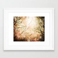 skyfall Framed Art Prints featuring Skyfall by Jenndalyn