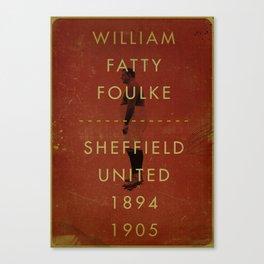 Sheffield United - Foulke Canvas Print