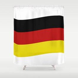 Germany flag Shower Curtain