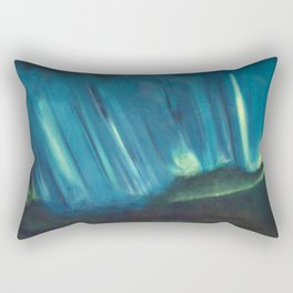 Aurora Borealis Rectangular Pillow