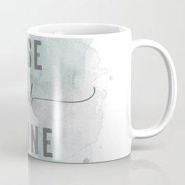 Rise and shine | watercolor turquoise Coffee Mug