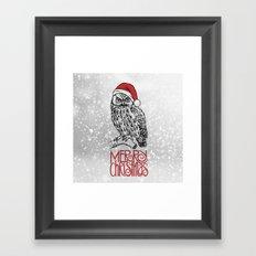 Merry Christmas II Framed Art Print