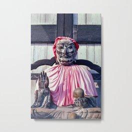 Pindola Bharadvaja statue - Japan Metal Print