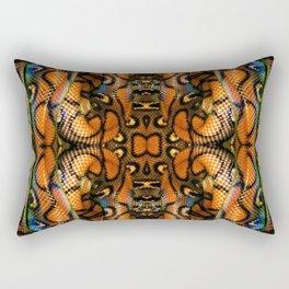 Rainbow Boa Rectangular Pillow