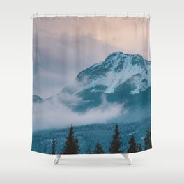 Icefields Parkway, AB Shower Curtain
