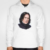 snape Hoodies featuring Sad Snape by Annike