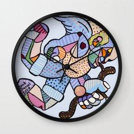 Bad Cupid Wall Clock