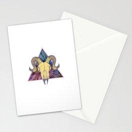 Dark Tie Dye Stationery Cards