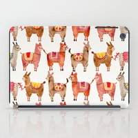 chile iPad Cases featuring Alpacas by Cat Coquillette
