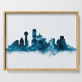 Dallas Skyline Serving Tray