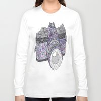 camera Long Sleeve T-shirts featuring camera by Dal Sohal