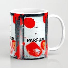 Parfum Box Red Splash Coffee Mug