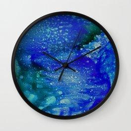 Aurora Galaxy Wall Clock