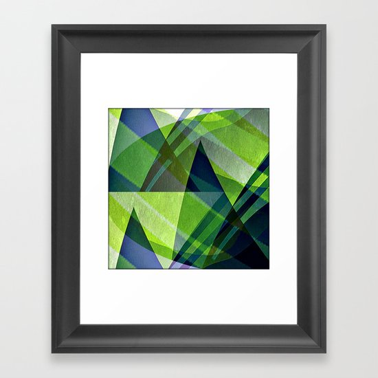 Pyramids Framed Art Print