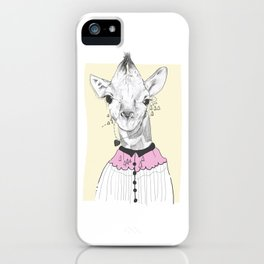 Grandma Giraffe iPhone Case