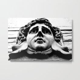 Stoney face Metal Print