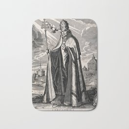 Saint Gregory the Great Bath Mat