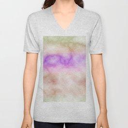 Rainbow marble texture 4 Unisex V-Neck