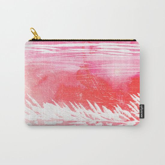 Pink Landscape Carry-All Pouch