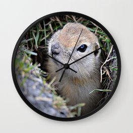Hi....It's Me! Wall Clock