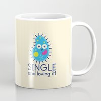 biology Mugs featuring It's All About Paramecium by David Olenick