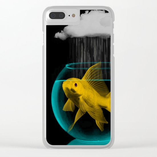 A fish out of water Clear iPhone Case