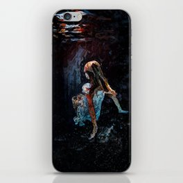 Don't come back for me iPhone Skin