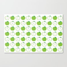 Green Apple Canvas Print