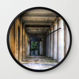Kensal Green Cemetery  Colonnade Wall Clock