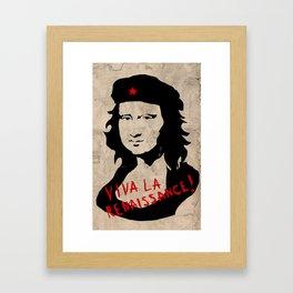 Viva la renaissance! Framed Art Print