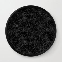 Dead of Night Cobwebs Wall Clock