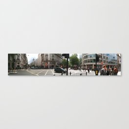 Central London Panorama #1 Canvas Print