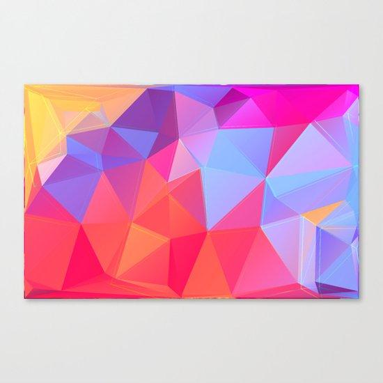 Vertices 8 Canvas Print